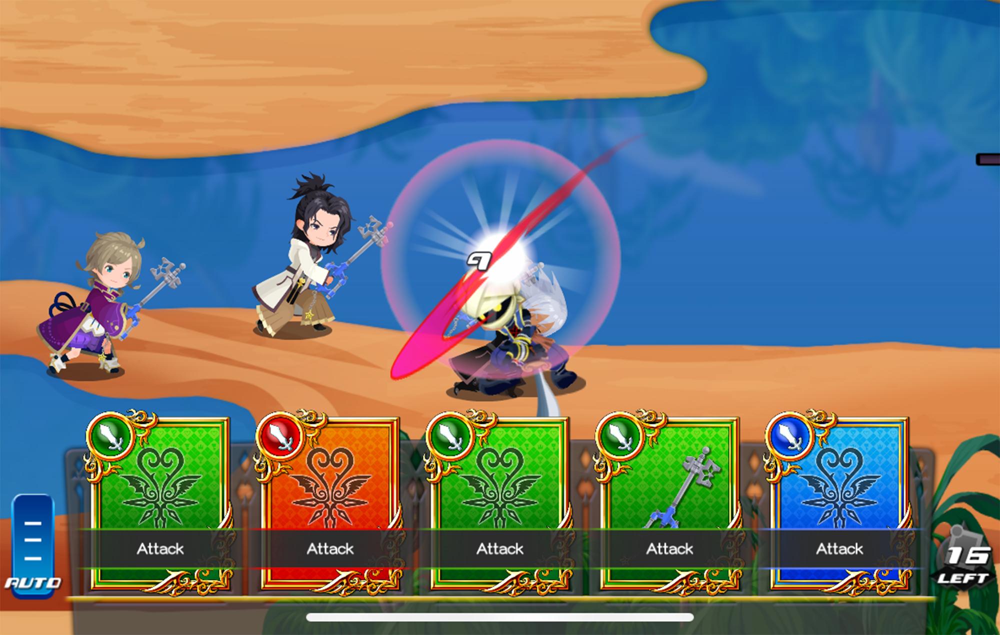 Kingdom Hearts Uχ Dark Road Mod Apk