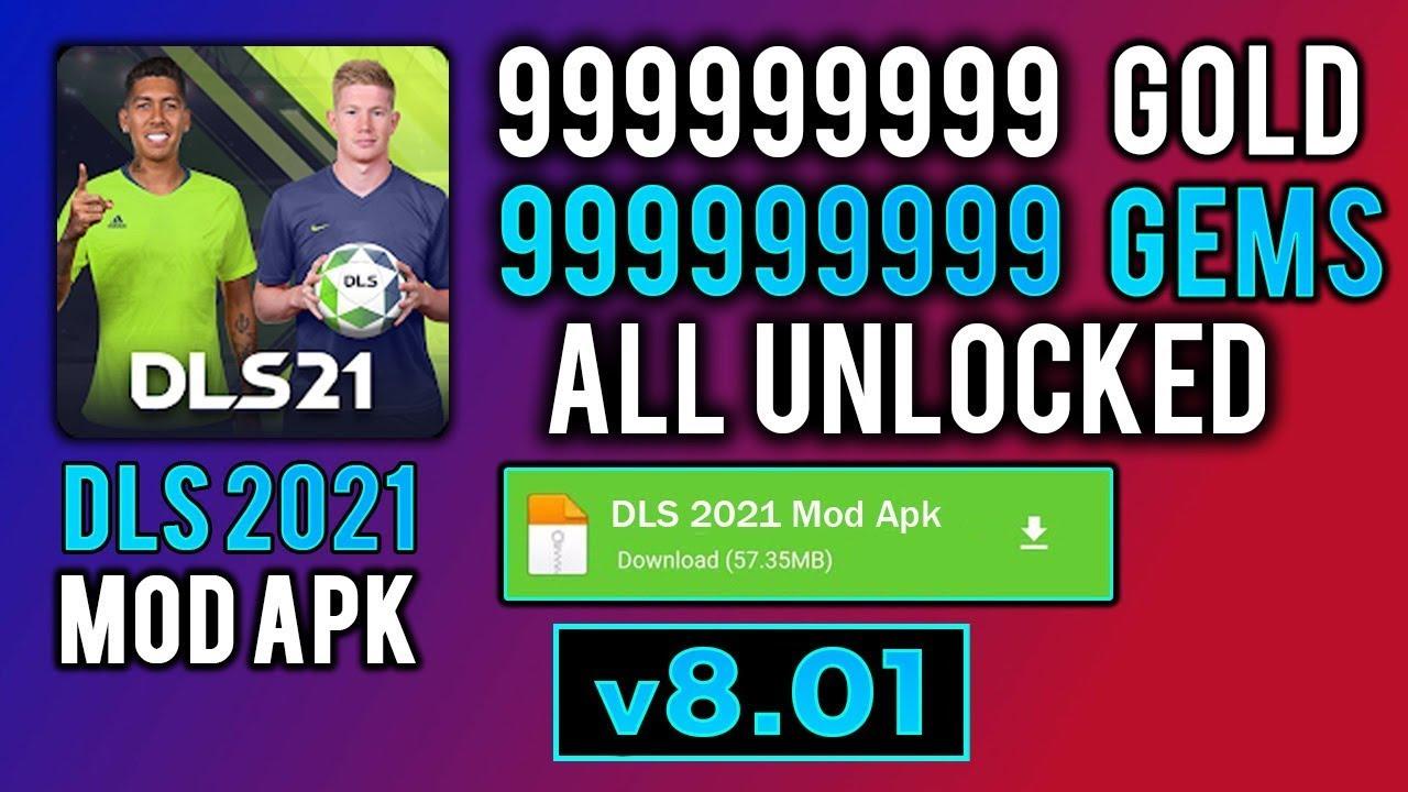 Dream League Soccer 2021 Mod Apk d