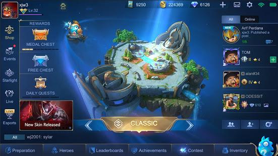 mobile legends mod apk
