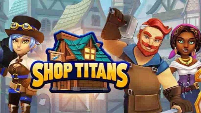 shop titans mod apk