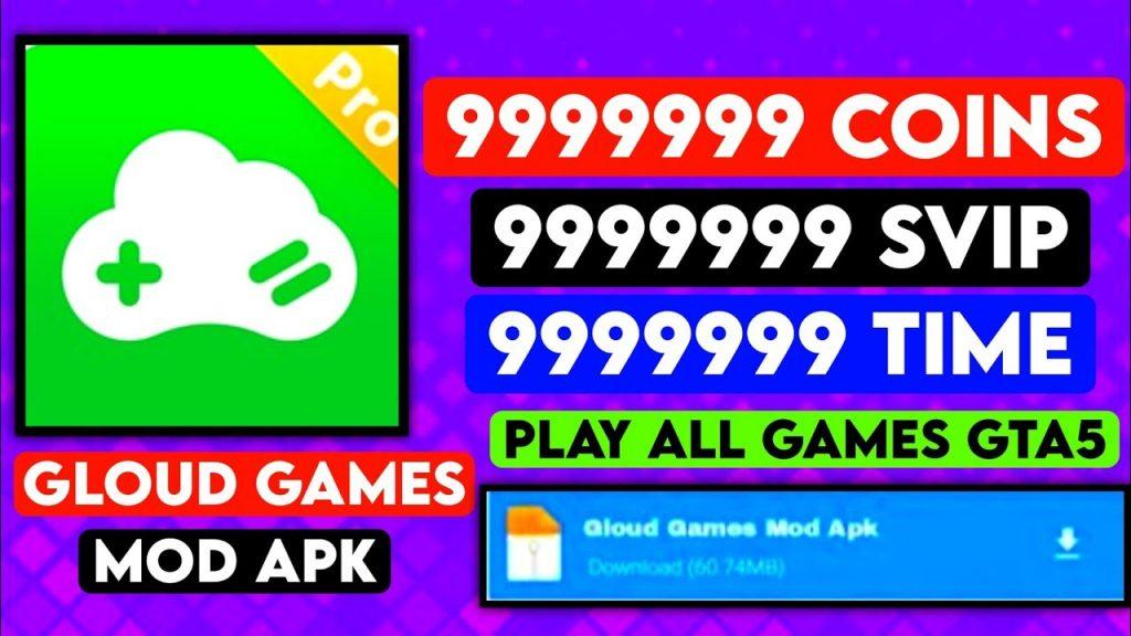g gloud games mod apk