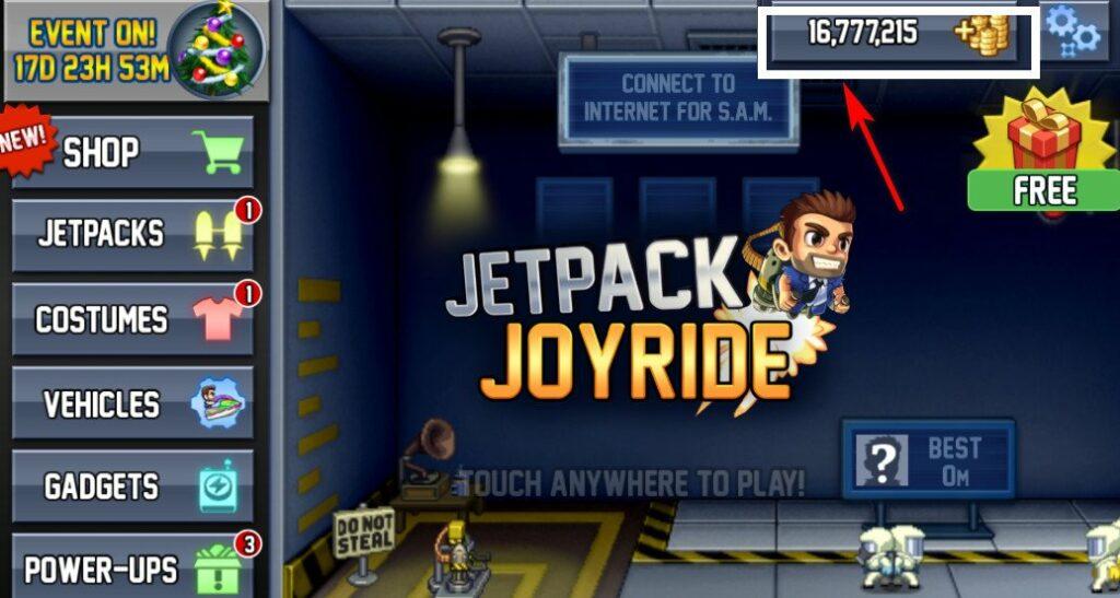 Jetpack Joyride Mod Apk