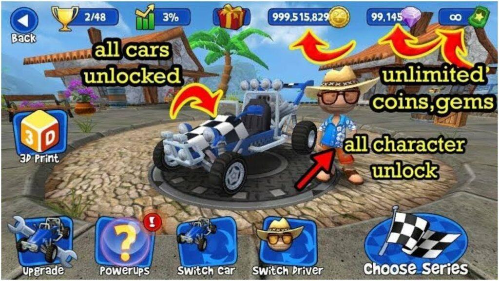 Beach Bugging Race 2 Mod Apk