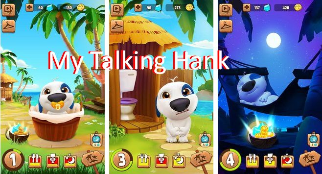 My Talking Hank Mod Apk