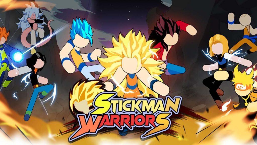 stickman warriors mod apk