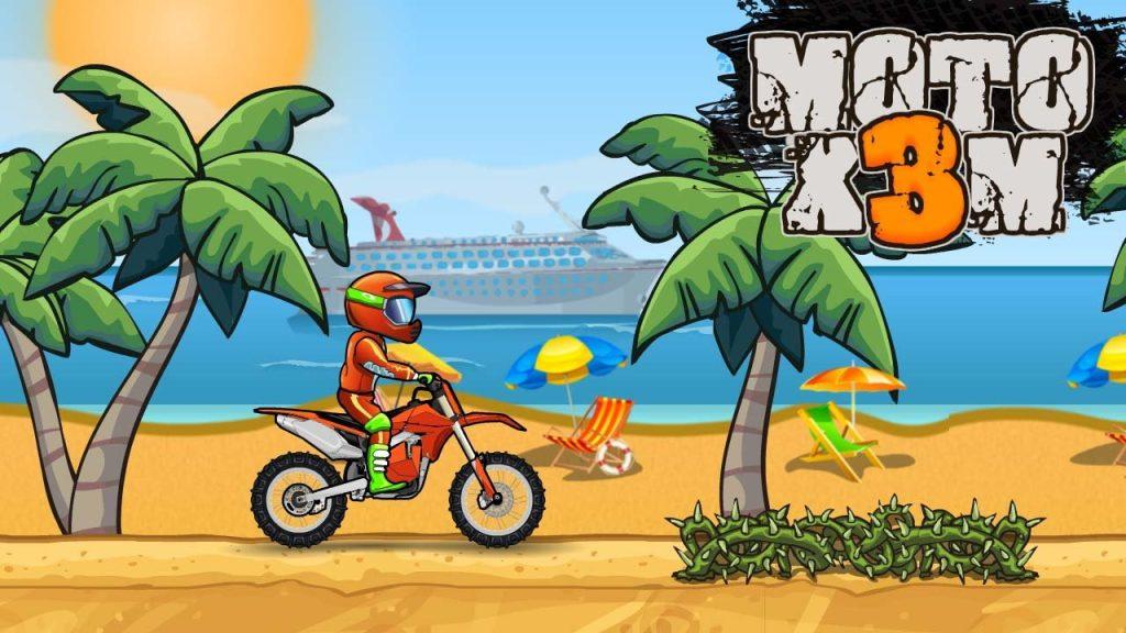 moto x3m bike race game mod apk